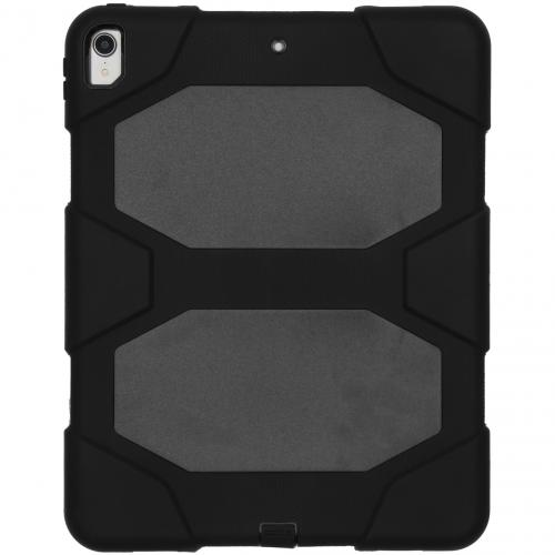 Extreme Protection Army Backcover voor de iPad Pro 12.9 (2018) - Zwart
