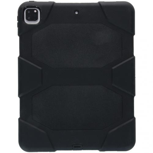 Extreme Protection Army Backcover voor de iPad Pro 12.9 (2020) - Zwart