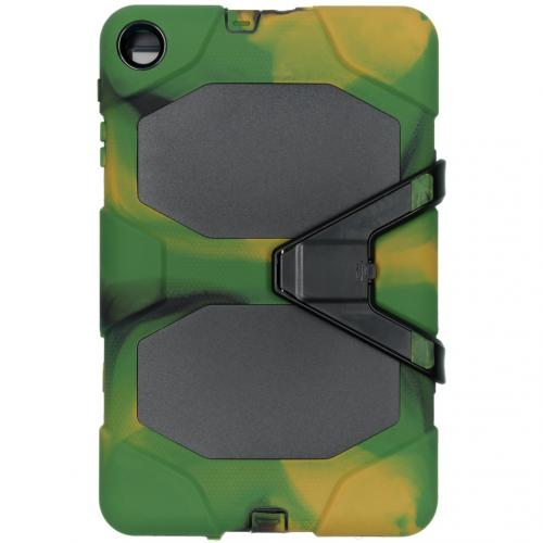 Extreme Protection Army Backcover voor de Samsung Galaxy Tab A 10.1 (2019) - Groen
