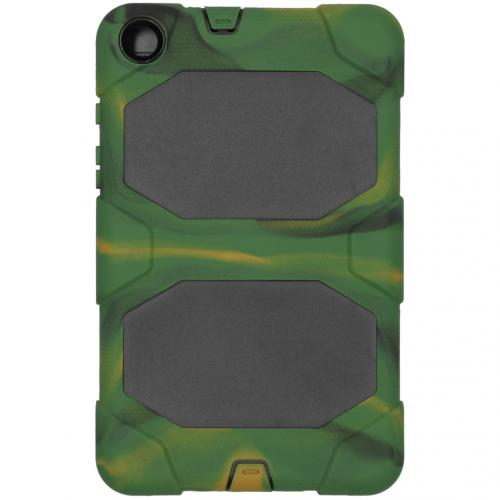 Extreme Protection Army Backcover voor de Samsung Galaxy Tab A 8.0 (2019) - Groen