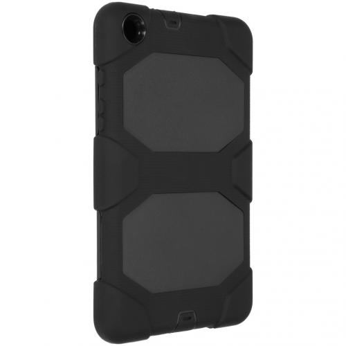 Extreme Protection Army Backcover voor de Samsung Galaxy Tab A 8.0 (2019) - Zwart