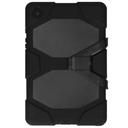 Extreme Protection Army Backcover voor de Samsung Galaxy Tab A7 - Zwart