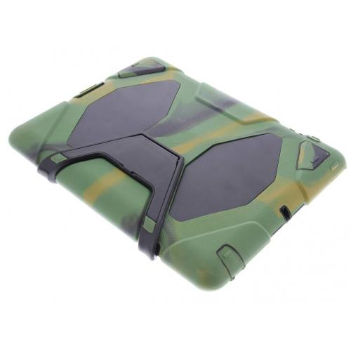 Extreme Protection Army Backcover voor iPad 2 / 3 / 4 - Groen