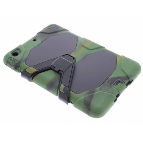 Extreme Protection Army Backcover voor iPad Mini / 2 / 3 - Groen