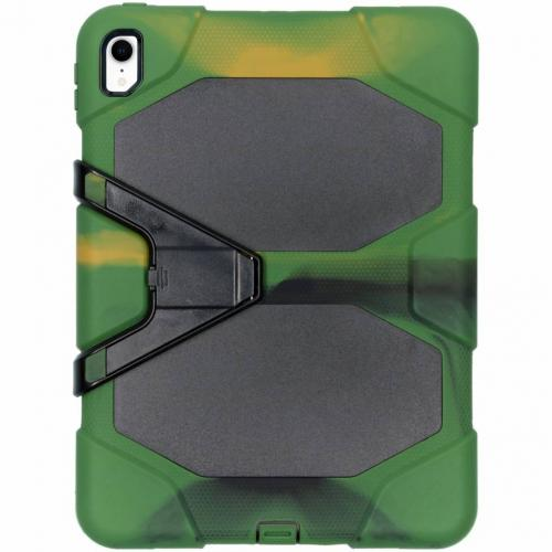 Extreme Protection Army Backcover voor iPad Pro 11 - Groen