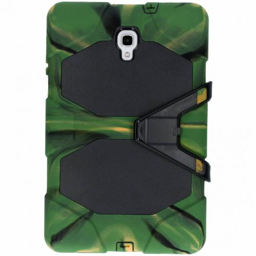 Extreme Protection Army Backcover voor Samsung Galaxy Tab A 10.5 (2018) - Groen