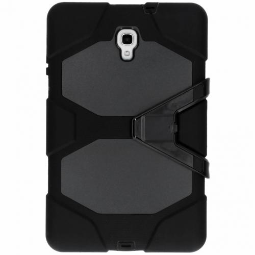 Extreme Protection Army Backcover voor Samsung Galaxy Tab A 10.5 (2018) - Zwart
