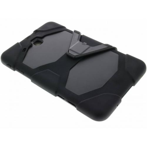 Extreme Protection Army Backcover voor Samsung Galaxy Tab E 9.6 - Zwart