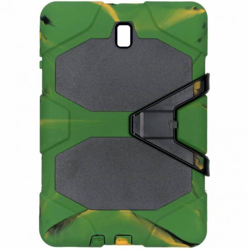 Extreme Protection Army Backcover voor Samsung Galaxy Tab S4 10.5 - Groen
