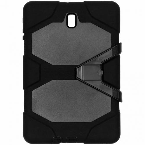 Extreme Protection Army Backcover voor Samsung Galaxy Tab S4 10.5 - Zwart