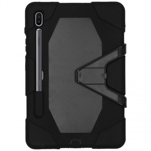 Extreme Protection Army Backcover voor Samsung Galaxy Tab S6 - Zwart