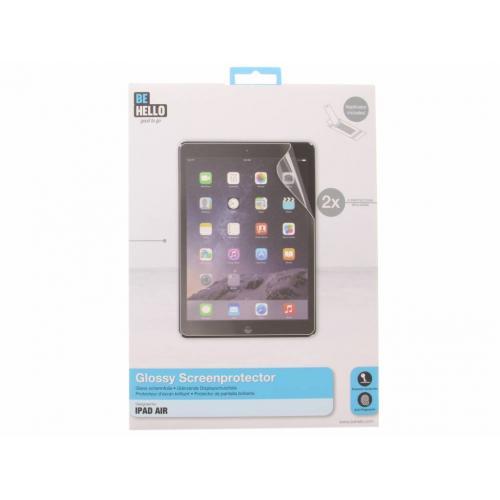Glossy Screenprotector voor iPad Air - Transparant