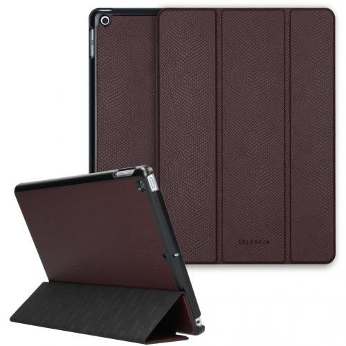 Kesia Slang Trifold Book Case voor de iPad 10.2 (2019 / 2020) - Donkerrood