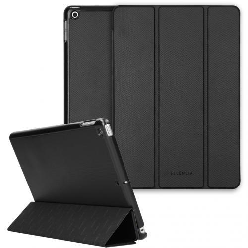 Kesia Slang Trifold Book Case voor de iPad 10.2 (2019 / 2020) - Zwart