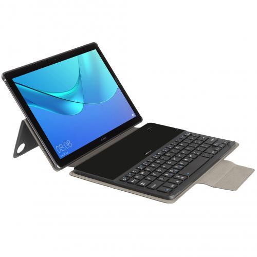 Keyboard Cover QWERTY voor de Huawei MediaPad M5 (Pro) 10.8 inch - Zwart