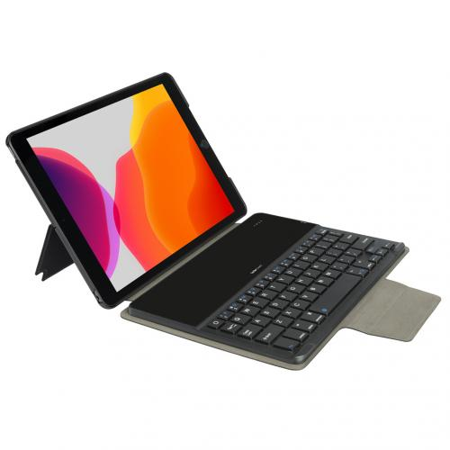 Keyboard Cover QWERTY voor de iPad 10.2 (2019) - Zwart
