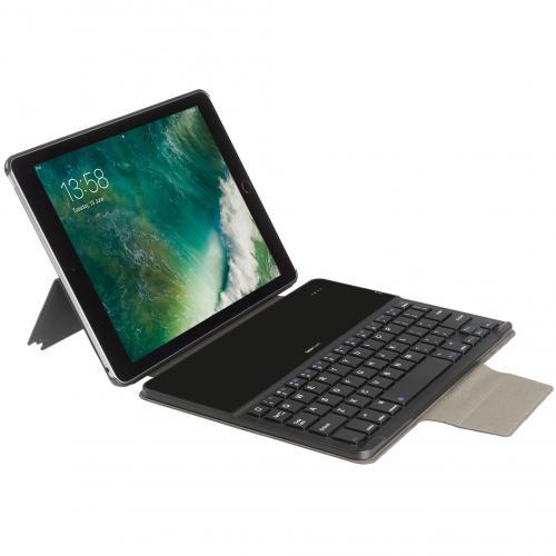 Keyboard Cover QWERTY voor de iPad (2018) / (2017) / Pro 9.7 / Air (2) - Zwart