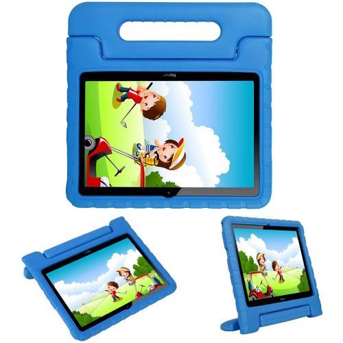 Kidsproof Backcover met handvat voor de Huawei MediaPad T3 10 inch - Blauw