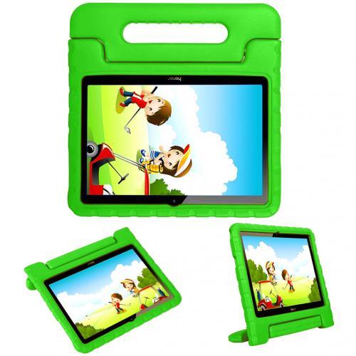 Kidsproof Backcover met handvat voor de Huawei MediaPad T3 10 inch - Groen