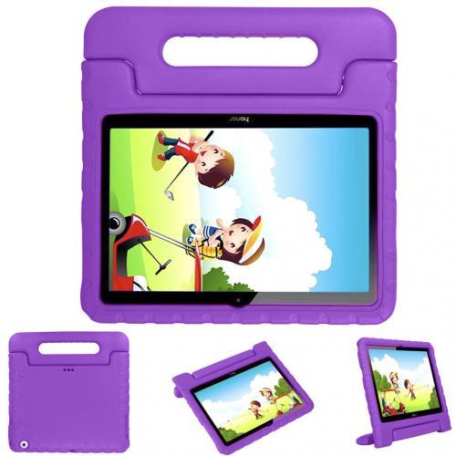 Kidsproof Backcover met handvat voor de Huawei MediaPad T3 10 inch - Paars