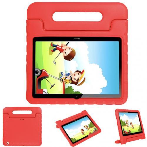Kidsproof Backcover met handvat voor de Huawei MediaPad T3 10 inch - Rood