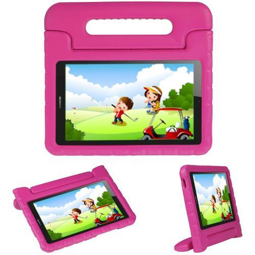 Kidsproof Backcover met handvat voor de Huawei MediaPad T3 10 inch - Roze