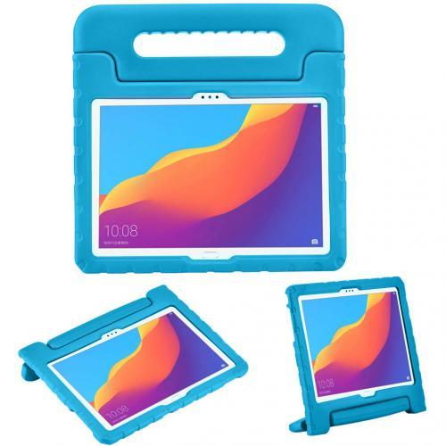 Kidsproof Backcover met handvat voor de Huawei MediaPad T5 10.1 inch - Blauw