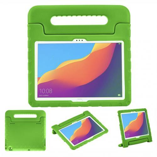 Kidsproof Backcover met handvat voor de Huawei MediaPad T5 10.1 inch - Groen