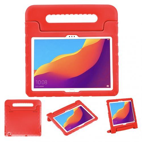 Kidsproof Backcover met handvat voor de Huawei MediaPad T5 10.1 inch - Rood
