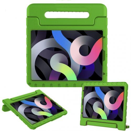 Kidsproof Backcover met handvat voor de iPad Air (2020) - Groen