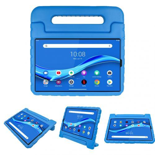Kidsproof Backcover met handvat voor de Lenovo Tab M10 Plus - Blauw