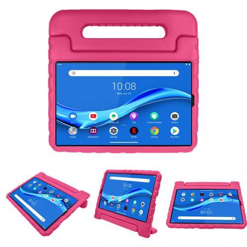 Kidsproof Backcover met handvat voor de Lenovo Tab M10 Plus - Roze
