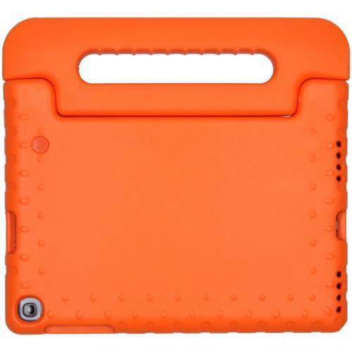Kidsproof Backcover met handvat voor de Samsung Galaxy Tab A 10.1 (2019) - Oranje