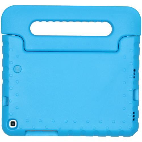Kidsproof Backcover met handvat voor de Samsung Galaxy Tab A 8.0 (2019) - Blauw