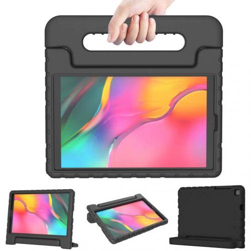 Kidsproof Backcover met handvat voor de Samsung Galaxy Tab A 8.0 (2019) - Zwart