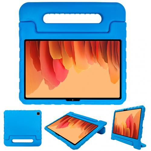 Kidsproof Backcover met handvat voor de Samsung Galaxy Tab A7 - Blauw