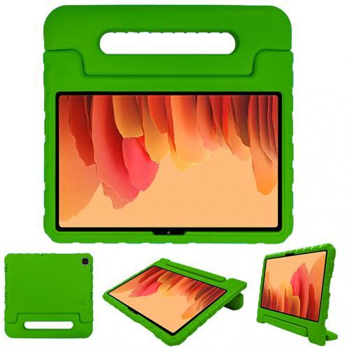 Kidsproof Backcover met handvat voor de Samsung Galaxy Tab A7 - Groen