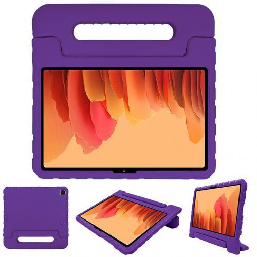 Kidsproof Backcover met handvat voor de Samsung Galaxy Tab A7 - Paars