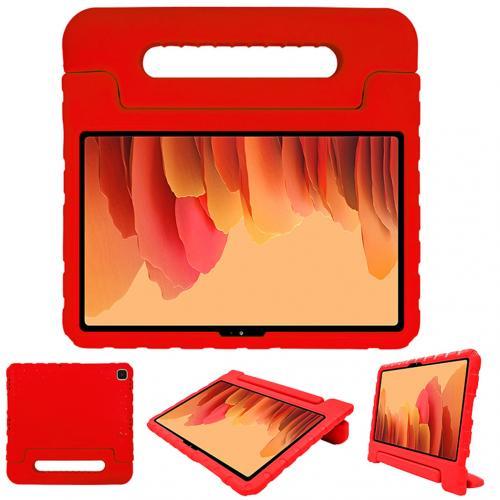 Kidsproof Backcover met handvat voor de Samsung Galaxy Tab A7 - Rood