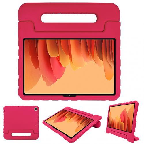 Kidsproof Backcover met handvat voor de Samsung Galaxy Tab A7 - Roze