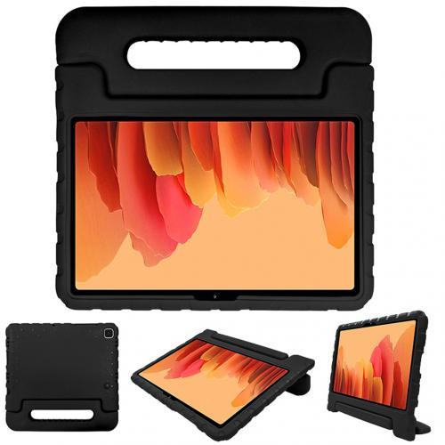 Kidsproof Backcover met handvat voor de Samsung Galaxy Tab A7 - Zwart