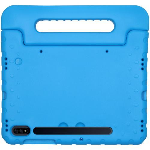 Kidsproof Backcover met handvat voor de Samsung Galaxy Tab S7 - Blauw