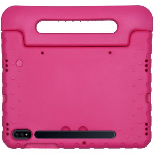 Kidsproof Backcover met handvat voor de Samsung Galaxy Tab S7 - Roze