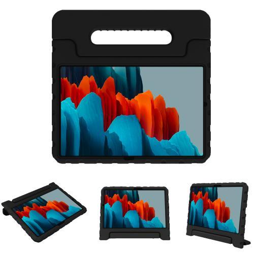 Kidsproof Backcover met handvat voor de Samsung Galaxy Tab S7 - Zwart