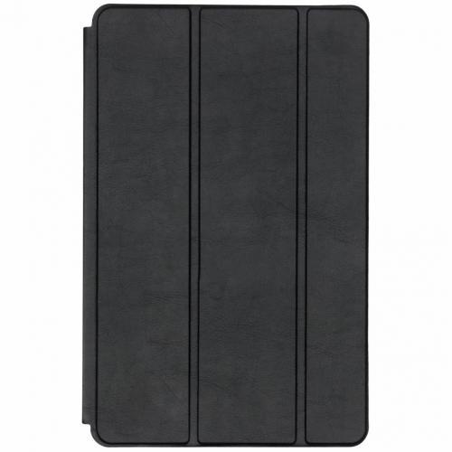 Luxe Bookcase voor de Samsung Galaxy Tab A 10.5 (2018) - Zwart