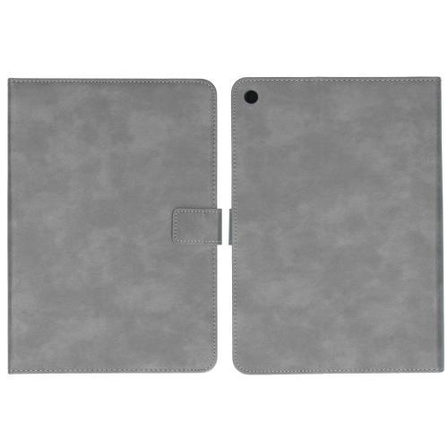 Luxe Tablethoes voor de iPad (2018) / (2017) - Grijs