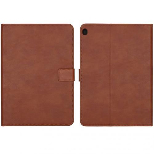 Luxe Tablethoes voor de Lenovo Tab M10 - Bruin