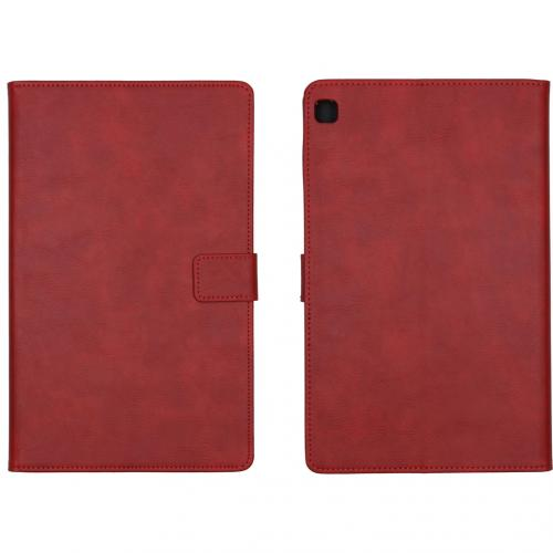 Luxe Tablethoes voor de Samsung Galaxy Tab S6 Lite - Rood