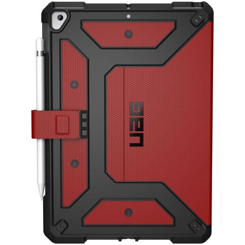 Metropolis Bookcase voor iPad 10.2 (2019) - Rood
