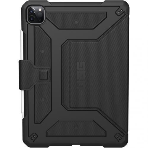 Metropolis Bookcase voor iPad Pro 12.9 (2020) - Zwart